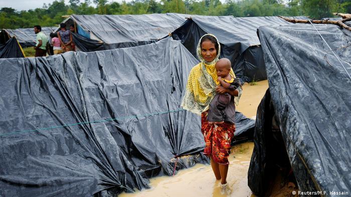 Bangladesch Rohingyas im Flüchtlingslager Cox's Bazar (Reuters/M.P. Hossain)