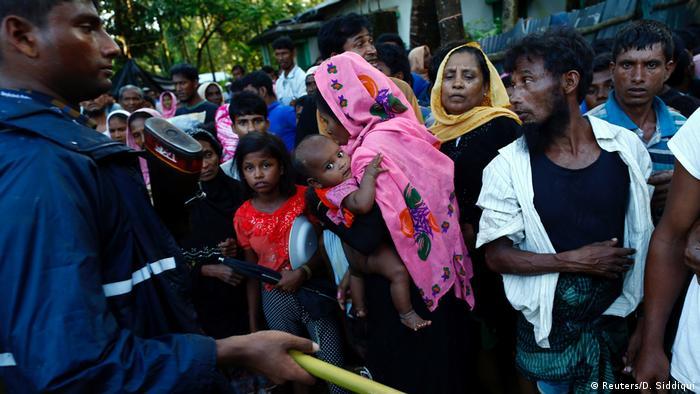 Bangladesch Rohingyas im Flüchtlingslager Cox's Bazar (Reuters/D. Siddiqui)