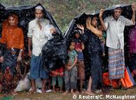 Біженці-рохінджа, які знаходяться у Бангладеш