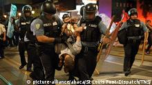 USA Proteste in St. Louis nach Freispruch für weißen Polizisten (picture-alliance/abaca/St Louis Post-Dispatch/TNS/)