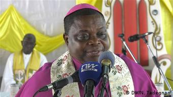 L'archevêque de Lomé, Mgr Denis Amouzou-Djakpah