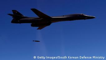Südkorea US-Bomber B-1B (Getty Images/South Korean Defense Ministry)
