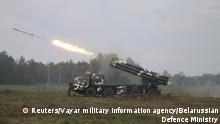 Weißrussland Zapad-2017 Militärmanöver