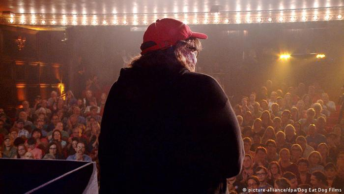 Still from Michael Moore in Trumpland (picture-alliance/dpa/Dog Eat Dog Films)