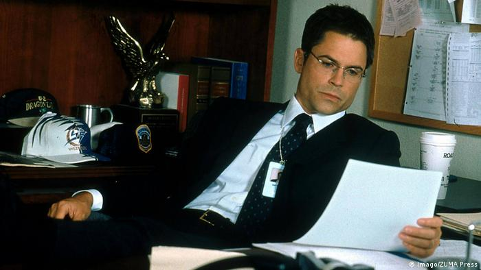 Still from The West Wing, 2008, with Rob Lowe (Imago/ZUMA Press)