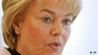 Erika Steinbach Praesidentin des Bundes der Vertriebenen