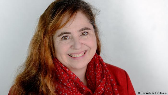 Bettina Marx , Leiterin des Büros der Heinrich-Böll-Stiftung in Ramallah, Westjordanland