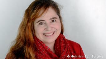 Bettina Marx - Leiterin des Büros der Heinrich-Böll-Stiftung in Ramallah Westjordanland