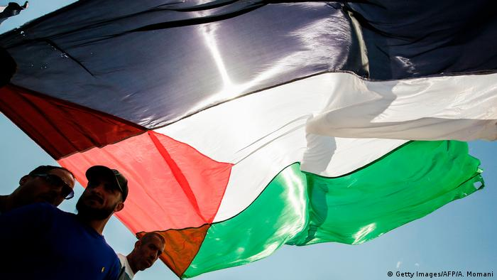 Palestinian flag (Getty Images/AFP/A. Momani)