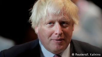 Estland Tallinn - Boris Johnson