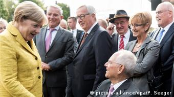 Merkel congratulates her best man in Offenburg