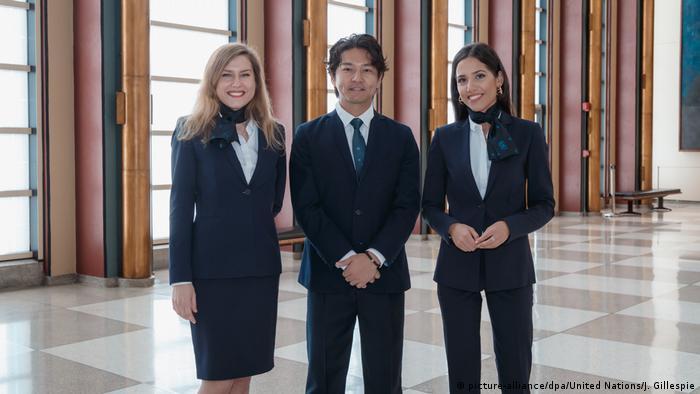 USA New York - Neue Uniformen für UN-Fremdenführer