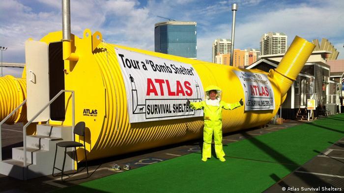 USA Unternehmen Atlas Survival Shelters