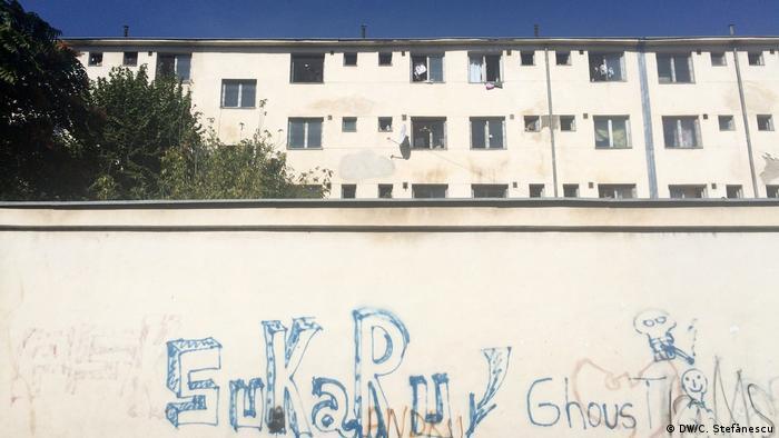 Refugee home in Bucharest