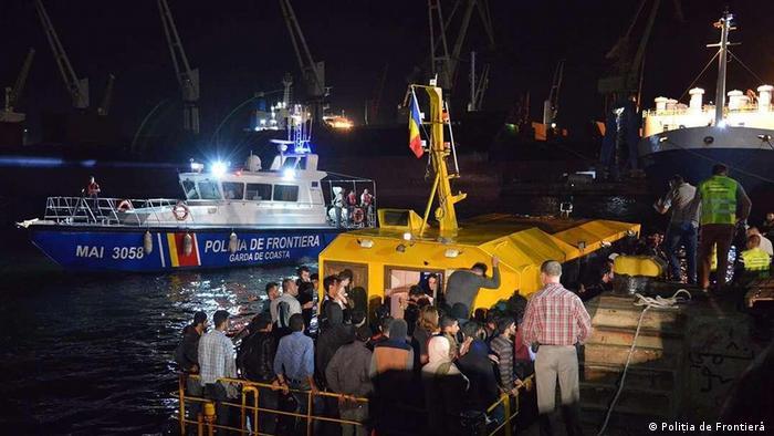 Poliția de frontieră salvează refugiați pe Marea Neagră (Poliția de Frontieră )