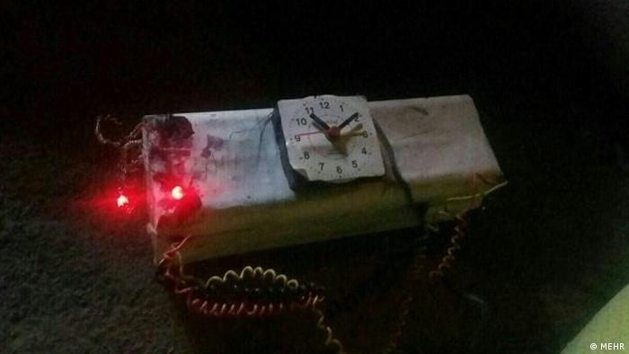 Iran Anschlag: Entschärfung des explosiven Pakets in Province Isfahan.