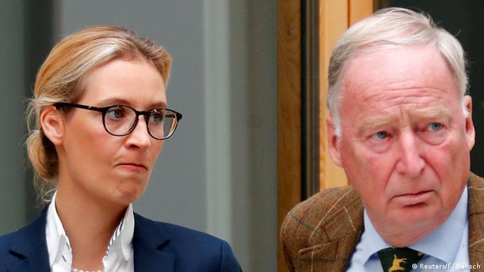 Deutschland AfD Spitzenkandidatin Alice Weidel mit Alexander Gauland (Reuters/F. Bensch)