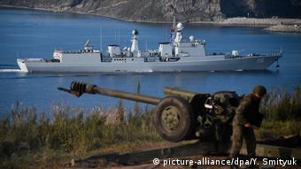 Chinese-Russian military drill near Vladivostok
