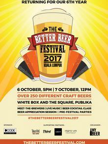 Malaysia Better Beer Festival 2017 in Kuala Lumpur