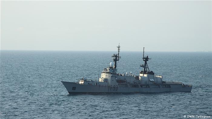 A military operation in the Gulf of Guinea targeting piracy