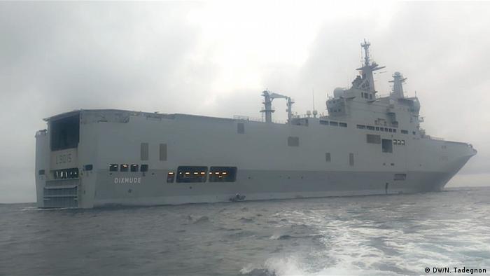 Militäroperation gegen Piraten im Golf von Guinea