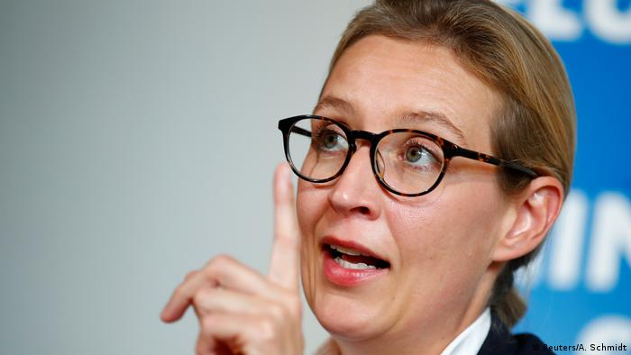 Alice Weidel, do partido Alternativa para a Alemanha
