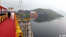 Indien Eröffnung Staudamm Narmada | Narendra Modi