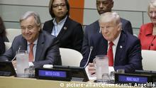 USA UN Generalversammlung in New York Donald Trump