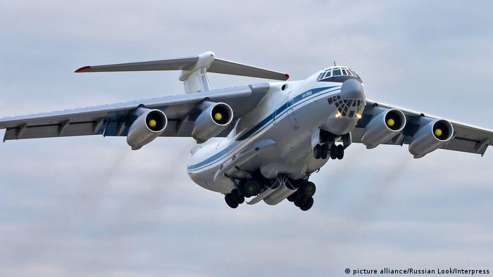 Russland Ilyushin Il-76 (picture alliance/Russian Look/Interpress)
