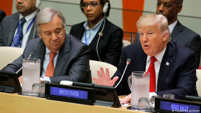 Donald Trump New York Antonio Guterres UN (Reuters/L.Jackson)