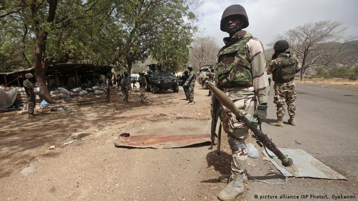 Soldier in Nigeria on a mission to fight Boko Haram