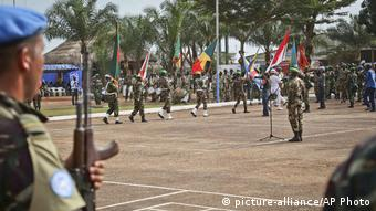 Zentralafrikanische Republik Bangui UN-Blauhelme