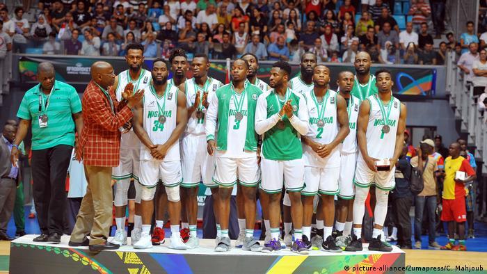 Tunesien Tunis Afrobasket 2017 2. Platz Nigeria