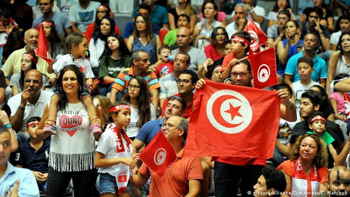 Tunesien Tunis Afrobasket 2017 Gewinner Tunesien (picture-alliance/Zumapress/C. Mahjoub)