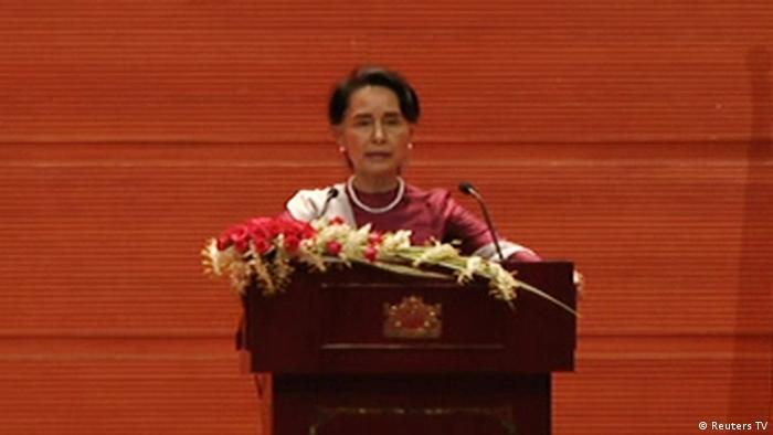 Myanmar Naypyitaw Aung San Suu Kyi