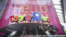 Illustration zur Insolvenz Toys R Us