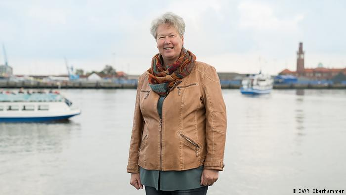 Susanne Puvogel of the SPD in Cuxhaven (DW/R. Oberhammer)
