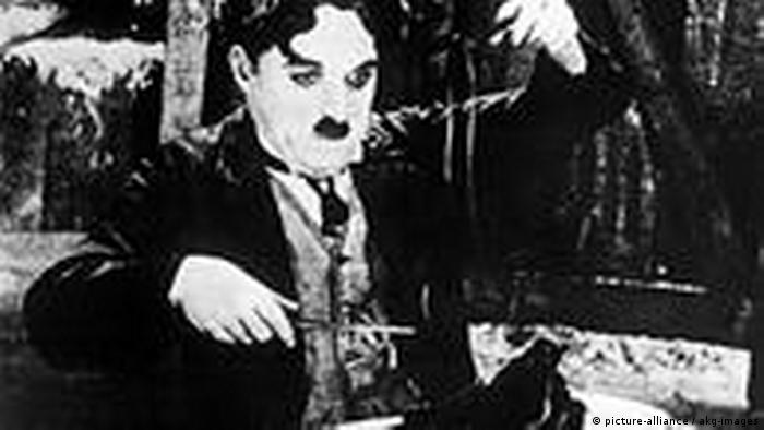 Charlie Chaplin in Goldrausch (picture-alliance / akg-images)