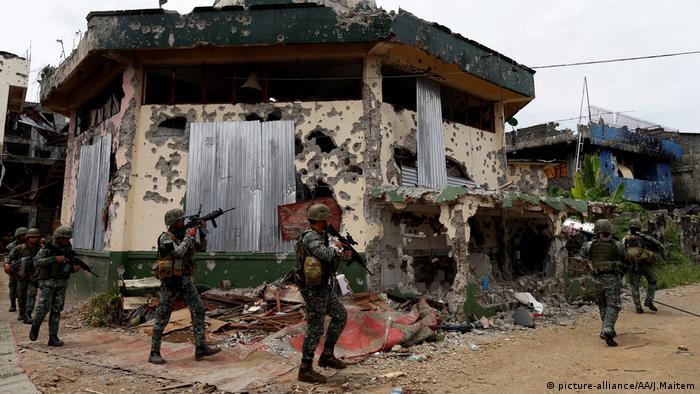 Marawi Philippinen Zusammenstöße Soldaten Islamismus