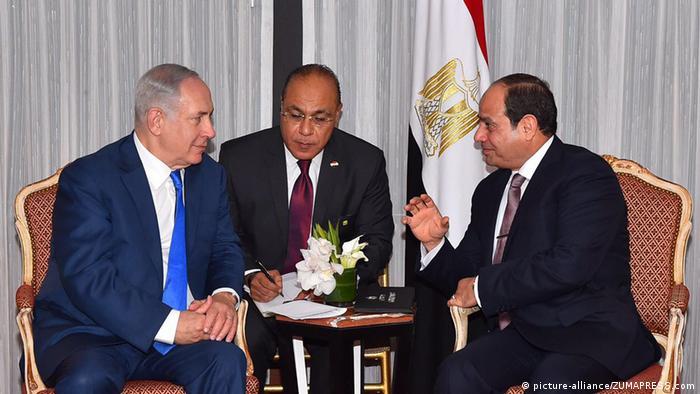 US: Netanyahu, Sissi