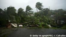 Guadeloupe Hurrikan Maria