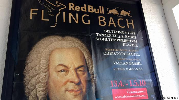 poster Flying Steps Flying Bach (DW/G. Schliess)