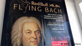poster Flying Steps Flying Bach