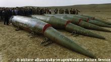 Sowjetunion 1989 Vernichtung SS-20 Raketen