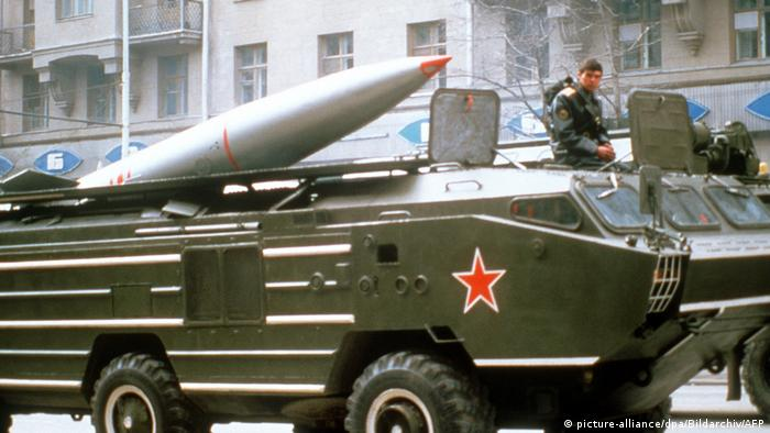 Москва, 1985: участници във военния парад на Червения площад