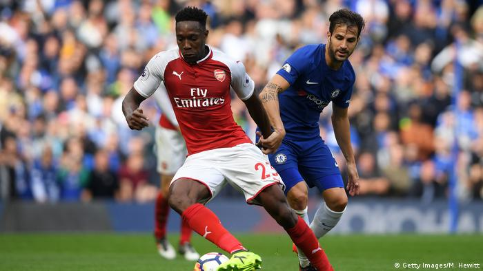 Fußball Chelsea v Arsenal - Premier League Danny Welbeck (Getty Images/M. Hewitt)