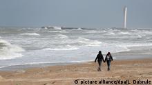 Belgien Strand von Ostende
