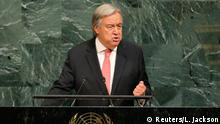 USA UN-Vollversammlung in New York | Guterres