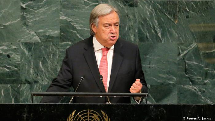 USA UN-Vollversammlung in New York | Guterres (Reuters/L. Jackson)