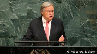 UN Secretary General Antonio Guterres (Reuters/L. Jackson)